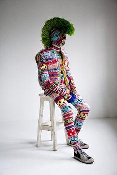 sweater suit