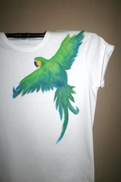 """Hand Painted Clothes and DIY Video Tutorials, """"How to Hand Paint Your Own Clothes"""" Online Workshops! BlueEyedHorseStudio.com Come and Join us for Free Online Workshops"""