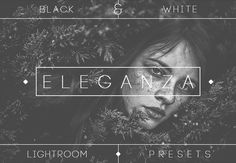 This set, which contains 74 Black & White Lightroom Presets, will add a beautiful and curated B&W look to your photos. The presets work great with a wide variety of images. You will get amazing and professional results easily, with a single click! Photography Tools, Design Bundles, Photo Manipulation, Lightroom Presets, Your Image, Cool Designs, Essentials, Make It Yourself, Black And White