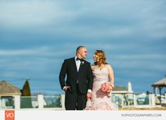 Anthony's Oceanview Wedding by VO Photographers Sunset Beach Weddings, Wedding Dj, Lifestyle Photography, Photographers, Floral Design, Cottage, Gowns, Stylish, Wedding Dresses