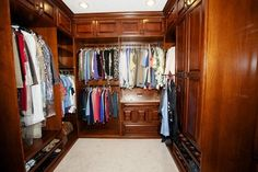 Spectacular Master Closets - traditional - closet - houston - Kay Wade, Closet Factory, VP-Head Designer