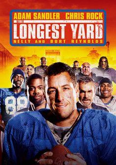 The Longest Yard (2005). Starring: Adam Sandler, Chris Rock, Burt Reynolds, Nelly, Cloris Leachman, Rob Schneider, Gary Oldman, James Cromwell, William Fichtner, Brian Bosworth, Michael Irvin and Bill Romanowski