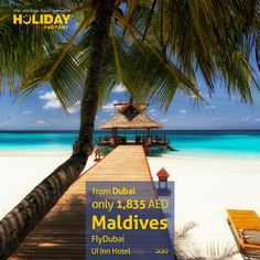 #Maldives holiday package for 1,835 AED from #Dubai incl. flights, hotel, transfers & tour representative.   Book NOW : http://www.holiday-factory.com/home.html?pi   #UAE #Travel #holidays2013