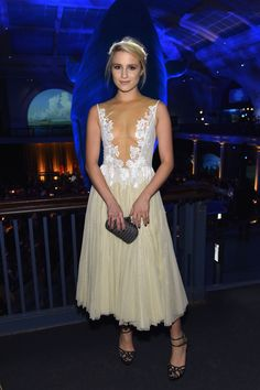 Is it just us or is Dianna Agron a real life Disney princess?! http://www.cosmopolitan.co.uk/fashion/celebrity/news/a31370/dianna-agron-disney-dress-american-museum-natural-history-gala-2014/