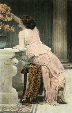 Flower Worship - Charles Edward Perugini