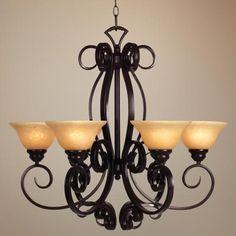 San Dimas Collection Six Light Chandelier