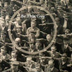 August Landmesser, shipyard worker in Hamburg, refused to perform Nazi salute…