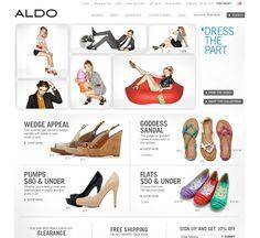 aldoshoes.com ecommerce website