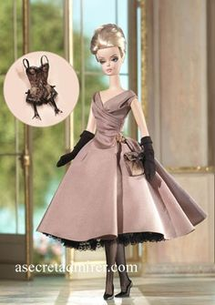 Barbie Collectible-High Tea  Savories Gift Set #J0957 Collector Barbies - Barbie Fashion Model Collection....a fav of mine. 2006