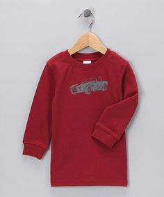 Take a look at this Red Hot Rod Organic Tee - Infant by Nosilla Organics on #zulily today! boys for #fall