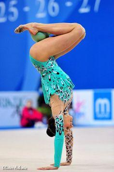 gymnastics with a ball