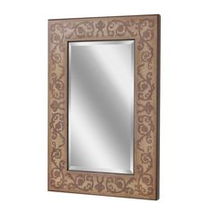 Regency Scroll Gold Wall Mirror (1067)