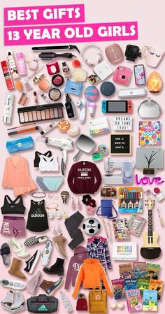 """Browse our ULTIMATE Gift Guide for Teen Girls 2019 featuring 1000+ best gifts for teen girls. Discover COOL and unique gifts for Birthdays for your 13 year old teen daughter. These EPIC Birthday Gifts will have her smiling and saying, """"OMG, how did you know what I want?"""" Shhh ... your secret is safe with us! #birthdaygifts #giftguide"""