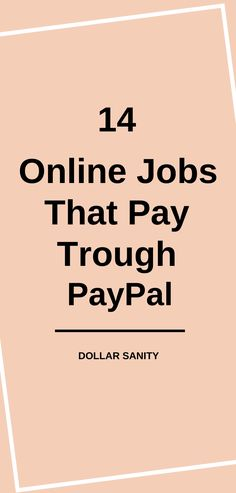 Legit online jobs that pay trough PayPal. Here you'll learn how to get free PayPal money. Make Money From Home, Way To Make Money, Legit Online Jobs, Free, Ideas, Making Money At Home, Thoughts