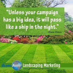 Custom Social Media Landscaping Marketing Plans #Landscaping ...