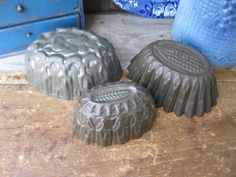 Early tin molds I have for sale