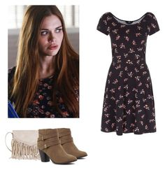 Lydia Martin - tw / teen wolf by shadyannon on Polyvore featuring polyvore fashion style Twig & Arrow clothing