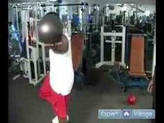 Exercise Program for Field Athletes : Core Balance 360 Drill on a F