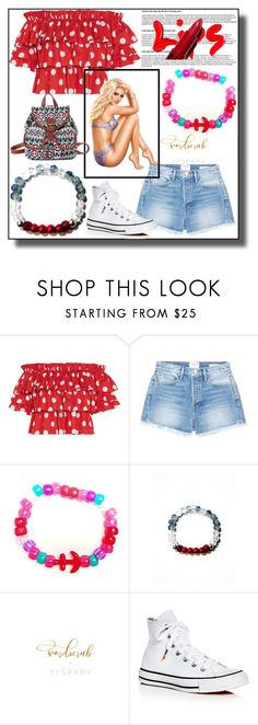 """""""77Spark 30"""" by dzemila-c ❤ liked on Polyvore featuring Caroline Constas, Frame, Converse and 77spark"""