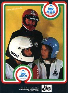 MDS helmets, Holland, 1980