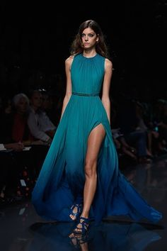 #ElieSaab #fashion #dress #look #outfit #show