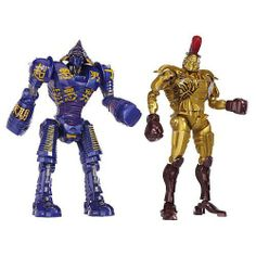 Real Steel Movie DELUXE Versus Action Figure 2Pack Midas Vs. Noisey Boy by Jakks. $31.99. Bring home the rock em sock em movie action of Real Steel with these highly articulated Robots! Now Real Steel fans can relive battles from the hit movie at home with a Deluxe Robot. Using QuickSwitch Technology, Real Steel Robot limbs and accessories are interchangeable and allow you to customize and create the ideal robot to size up for any type of battle.