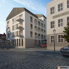 Zdjęcia wizualizacje budynku Dominikańska 9 w Poznań