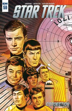 Star Trek: New Comics Feature Classic Series and Movie Casts - canceled + renewed TV shows - TV Series Finale Star Trek Tv, Star Trek Movies, Star Wars, Comic Book Covers, Comic Books, Comic Art, Vaisseau Star Trek, James T Kirk, Star Trek Original