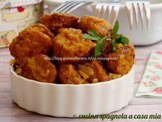 Patate all'importanza: ricetta tradizionale di cucina spagnola. Deliziose e profumate allo zafferano ti sorprenderanno per il loro sapore!