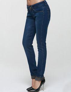 Camii Mia Women's Slim Fit Fleece Jeans denim farkut fleecevuoratut lämpimät fleece vuoritetut talvifarkut