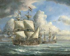 Anglo Dutch Wars, Ship Of The Line, Abandoned Ships, Tall Ships, Battleship, Sailing Ships, Boat, Leiden, History