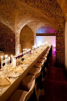 Long tables create a fun and and vibrant atmosphere - RSA House #wedding #dinner #London #food #bride #eat #banquet http://www.squaremeal.co.uk/venue/weddings-at-the-rsa