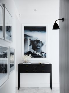 Antonio Mora print via Citizen Atelier. Design by Gillianne Griffiths Interiors.