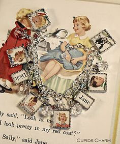 Dick & Jane bracelet  --  Cupids Charm - Notes From A Charmed Life