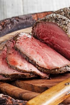 Easy 3 Ingredient Melt in Your Mouth Eye of Round Beef Roast Recipe - 5 Minute…