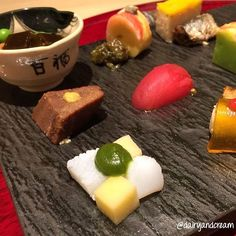 Who says kaiseki has to be rigid and expensive? I chanced upon this 185-year old hidden #kaiseki gem unexpectedly only to be delighted by its creative platters and highly affordable prices from 3500-10000 for dinner.  Full story about Kagairo 花外楼 (since 1830) on blog link  @dairyandcream by dairyandcream