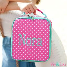Wholesale Boutique Dottie Collection Lunch Box  Monogrammed by HeyYallandCo on Etsy