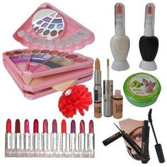 Makeup will bring ideal look on the person. Perfect for both professional and personal use