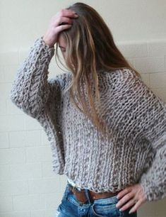 This is a great sweater to wear with any belt. VEGAN Friendly 100 acrylic chunky comfy sweater by ileaiye on Etsy, Knooking, Love Knitting, Vegan Clothing, Knitwear Fashion, Vegan Fashion, Sweater Weather, Comfy Sweater, Girls Sweaters, Crochet Clothes