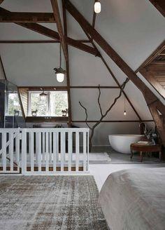 Dutch interior designer Jeroen van Zwetselaar of ZW6 has transformed this 1930s semi-detached h...