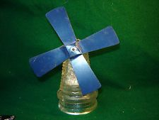 DUTCH WINDMILL vintage glass candy container Jennette PA original contents Dutch Windmill, Candy Containers, Glass Candy, Contents, Ceiling Fan, Kitchen, Vintage, Cooking, Ceiling Fan Pulls
