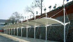 Aliexpress.com: Acheter Auvents paysage Peng Peng membrane tendue parking structure de la membrane abri acier membrane tendue tissu de traitement de serviettes en tissu fiable fournisseurs sur mengjun