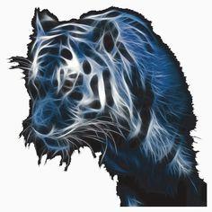 tigersilver Fractal Art, Fractals, Abstract Art, Lion Sculpture, Horses, Statue, Serendipity, Tigers, Animals