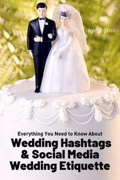 wedding hashtags and social media wedding etiquette Social Media Digital Marketing, Social Media Tips, Wedding Etiquette, Mom Blogs, Hashtags, Getting Married, Need To Know, Everything, Wedding Planner