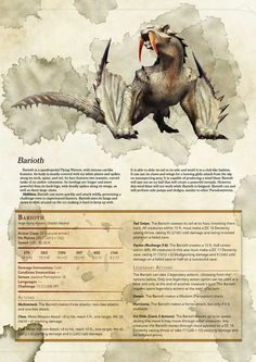 Tagged with gaming, dnd, homebrew, tabletop games, dungeons and dragons; Another round of D&D! Dnd Dragons, Dungeons And Dragons 5e, Dungeons And Dragons Characters, Dungeons And Dragons Homebrew, Dnd Characters, Mythical Creatures Art, Mythological Creatures, Dnd Stats, Dnd Races