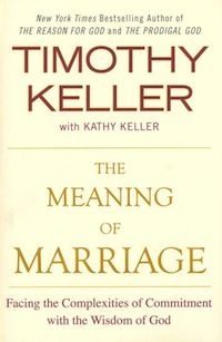 Umm, can I just say this book is totally rocking my world? It's not even the marriage-talk. As a single person, it's the GOSPEL-talk that's kicking my butt. But framing marriage in the context of the Gospel is amazing. Completely relevant for married people AND single people, too! First Tim Keller book and ordered two more!  [Timothy Keller, The Meaning of Marriage]