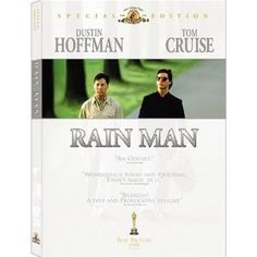 Rain Man. One of my favorite movies of all time. Dustin Hoffman nailed it. Tom Cruise was a decent supporting actor, but the movie was Hoffman's.