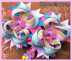 How to Make Hair Bow Instructions NO SEW Patterns by tiarasnbows, $10.00