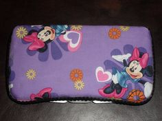 padded fabric covered baby wipes case...this would be so easy to make!