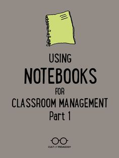 Even if you've been teaching a while, you might still experience moments when all of your classroom management tools stop working. This one cheap, quick strategy, using a simple blank notebook, can help you regain control in under a minute.